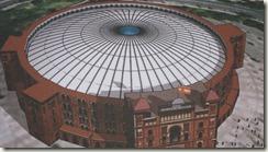 Проект арены с крышей